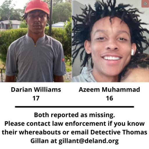 Darian Williams and Azeem Muhammad