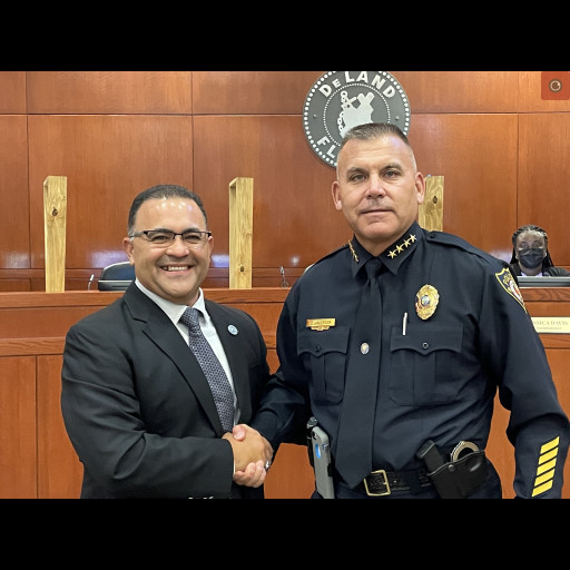 Captain Williams and Chief Umberger