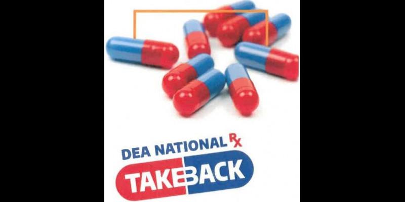 Image for DEA's National Prescription Drug Take Back Day is October 23, 2021 10am to 2pm