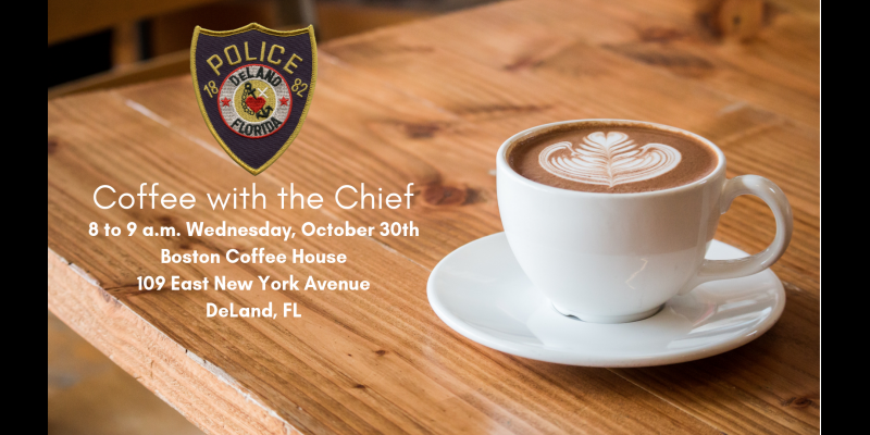 Image for Coffee with the Chief