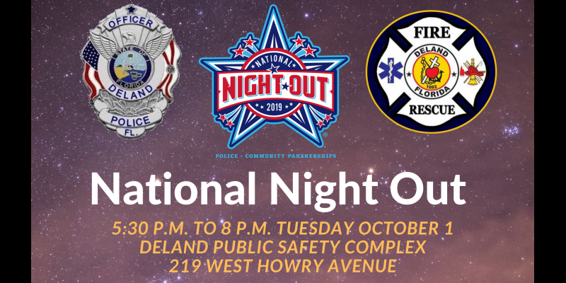 Image for National Night Out - Tuesday, October 1st